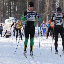Skiing 90 km - Christian Friman (5492), Joar Langeland (6750)