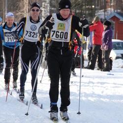 Skiing 90 km - Erik Rönnblad (7325), Erik Tjernström (7600)
