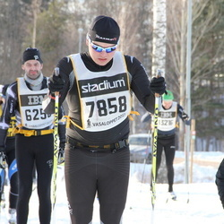 Skiing 90 km - Anders Lundberg (7858)
