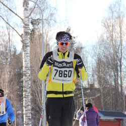 Skiing 90 km - Anders Andersson (7860)