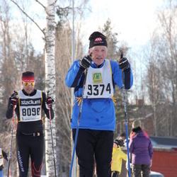 Skiing 90 km - Henrik Friberger (8098), Peter Thörnblom (9374)