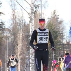 Skiing 90 km - Henrik Friberger (8098)
