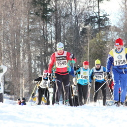Skiing 90 km - Lennart Hävren (5548), Anders Nordeman (7358)