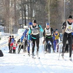 Skiing 90 km - Daniel Broberg (7631), Anders Olsson (11932)