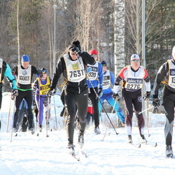 Skiing 90 km - Daniel Broberg (7631), Anders Olsson (11932), Joakim Norström (13823)