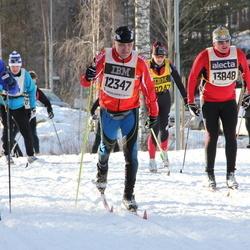 Skiing 90 km - Henrik Dalgaard (6901), Mikko Jokinen (12347), Martin Eder (13848)