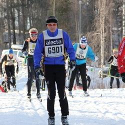 Skiing 90 km - Henrik Dalgaard (6901), Mikko Jokinen (12347)