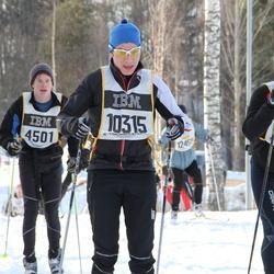 Skiing 90 km - Albert Bäckebjörk (6701), Alexander Lundgren (10315)