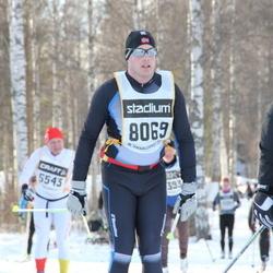 Skiing 90 km - Daniel Karlsson (8069)