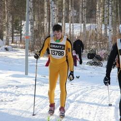 Skiing 90 km - Mikael Einarsson (7444), Henrik Gabrielsson (13788)