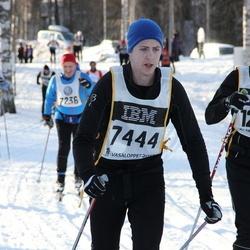 Skiing 90 km - Mikael Einarsson (7444), Christian Högberg (12852)
