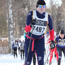 Skiing 90 km - David Israelsson (7487)