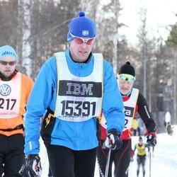 Skiing 90 km - Johan Farth (7217), Björn Fredriksson (15391)