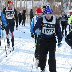 Skiing 90 km - Anders Röstin (7196), Anders Andersson (8240), Jan Fredrik Svenns (11777)