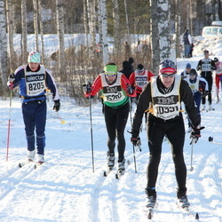 Skiing 90 km - Carl-Johan Dyverfeldt (8205), Robin Nordgren (10391)