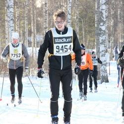 Skiing 90 km - Patrik Johansen (7752), Axel Schörling (9454)