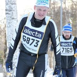 Skiing 90 km - Janne Sundnäs (6873)