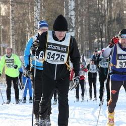 Skiing 90 km - Anders Hellman (9426), Wolfgang Dellit (9767)