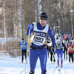 Skiing 90 km - Daniel Larsson (11992)