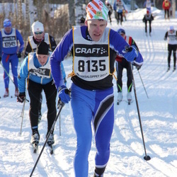 Skiing 90 km - Daniel Edberg (8135)