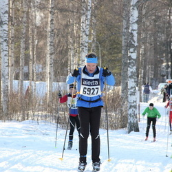 Skiing 90 km - Christian Perret (6927)