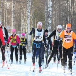 Skiing 90 km - Joel Svensson (7100), Anders Westin (10137)