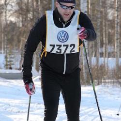 Skiing 90 km - Henrik Lundberg (7372)