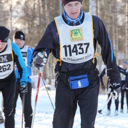 Skiing 90 km - Janne Hurtig (11437)