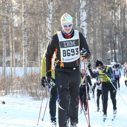 Skiing 90 km - Christian Fagerlund (8693)