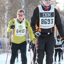 Skiing 90 km - Gabriel Fogelsjöö (6413), Christian Fagerlund (8693)