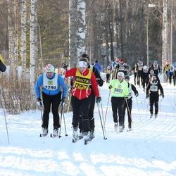 Skiing 90 km - Björn Severinsson (8802), Cecilia Thörnblom (17957), Renny Asplund (30129)