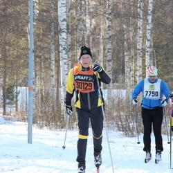 Skiing 90 km - Vidar Augustin (7790), Cecilia Thörnblom (17957), Renny Asplund (30129)