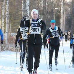 Skiing 90 km - Daniel Arnberg (6807), Benny Karlsson (9079)