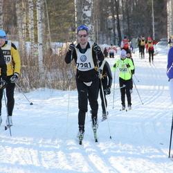 Skiing 90 km - David Lindberg (7281), Olov Sandberg (8314)