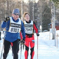 Skiing 90 km - Tommy Korhonen (7949), Daniel Rosendahl (8103)