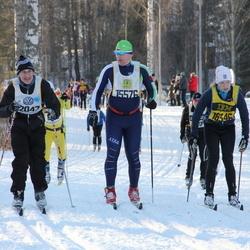 Skiing 90 km - Jaroslav Zahradnik (15576), Anna Pettersson (18346)