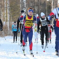 Skiing 90 km - Erik Rickardsson (9487), Eva Andersson (17956)