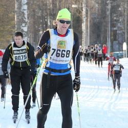 Skiing 90 km - Henrik Rosencrantz (7668), Anders Geithung (8075)