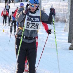 Skiing 90 km - Henrik Dikvall (8238)