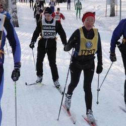 Skiing 90 km - Anders Höög (12608), Lena Kierkegaard (17197)