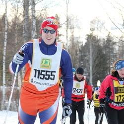 Skiing 90 km - Christer Backlund (11555), Inger Cederberg (17266)