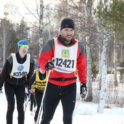 Skiing 90 km - Osman Keskin (12421), Hugo Birgersson (16048)
