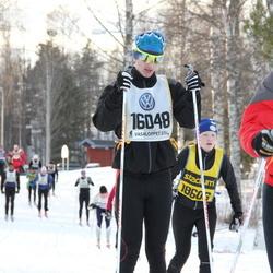 Skiing 90 km - Hugo Birgersson (16048)