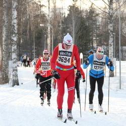 Skiing 90 km - John M. Rastad (9694), Bo Andersson Möller (12795)