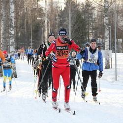 Skiing 90 km - Jean Marc Biever (4765), Tommy Elmertoft (9971)