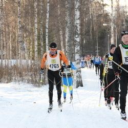 Skiing 90 km - Jean Marc Biever (4765), Pekka Ahonen (15417)