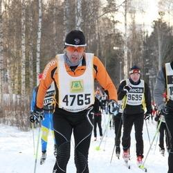 Skiing 90 km - Jean Marc Biever (4765), Eigil Örgersen (9695), Fredrik Justesen (15335)