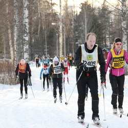 Skiing 90 km - Daniel Johannesson (12409), Mie Holm (18872)