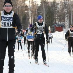 Skiing 90 km - Tauno Koskinen (9601), Erik Ohlsson (14338)