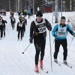 Skiing 90 km - Timo Pohjanvuori (11245), Arne Björkman (12055)